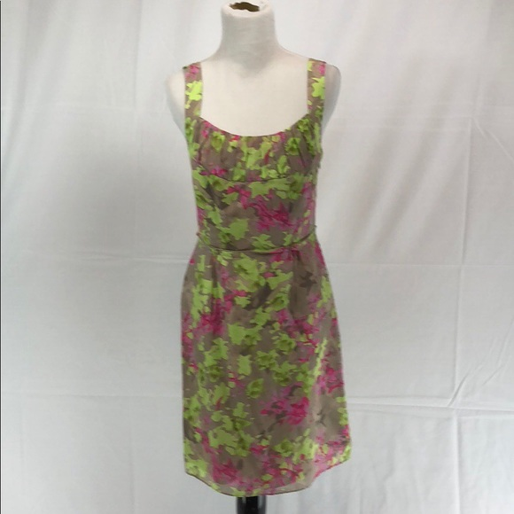 Banana Republic Dresses Floral Lined Part Silk Sundress Poshmark